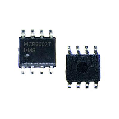 Microchip微芯MCP6002T-I/MS运算放大器